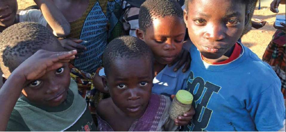 Kinder in Sierra Leone