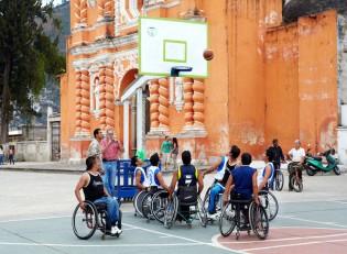 Guatemala Rollstuhl