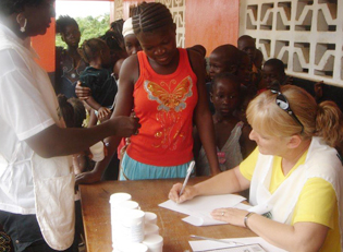 Sierra Leone Medizinische Hilfe