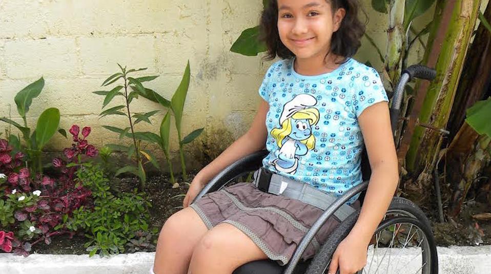 child in wheelchair Guatemala