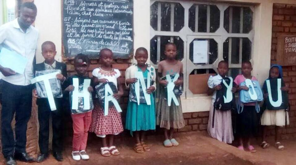 English class in DR Congo