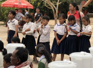 Schulkinder Kambodscha
