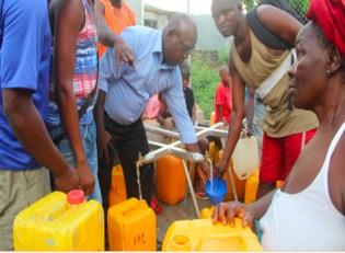 Water tanks for Sierra Leone CHF-HK