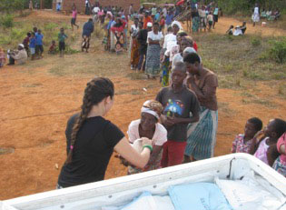 food for needy people in Malawi