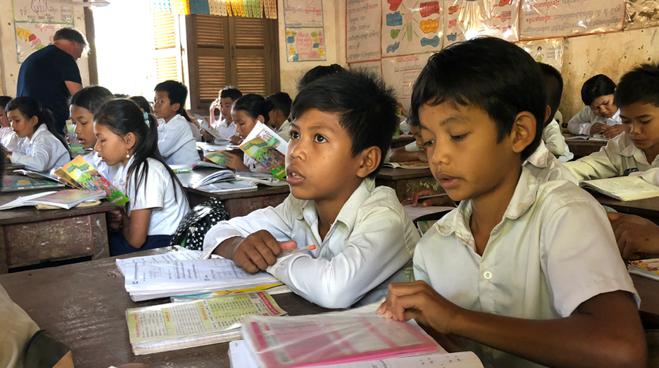 school support of cChildren's Hope Fund Hong Kong