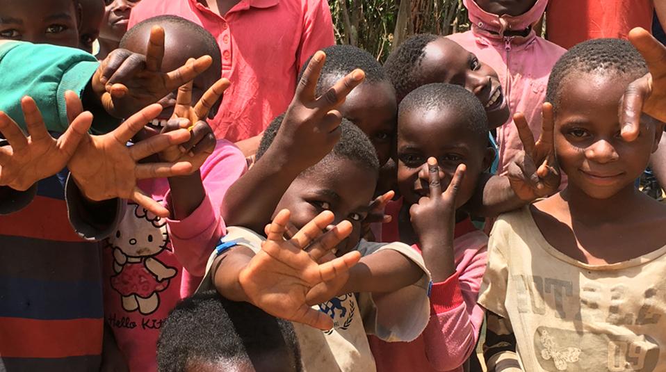 Kinder im Kongo Hoffnung fuer Kinder